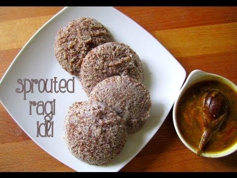 Ragi (sprouted)idli recipe