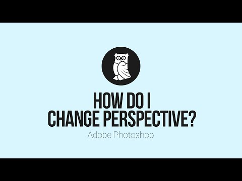 How To Change Perspective in Photoshop