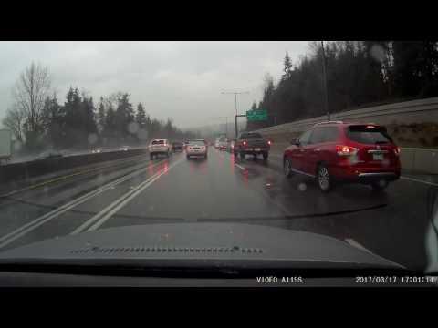 Seattle Dash Cam - I-405 Toll Lane Cheat