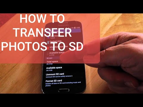 How To Transfer Photos To Micro SD Card On A Galaxy S4