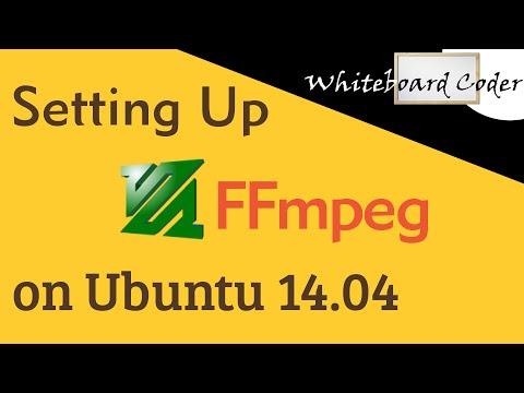 Installing ffmpeg on Ubuntu 14 04
