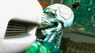 Mortal Kombat 9 - All Stage Fatalities on Green Reptile Costume Mod 4K Ultra HD Gameplay Mods