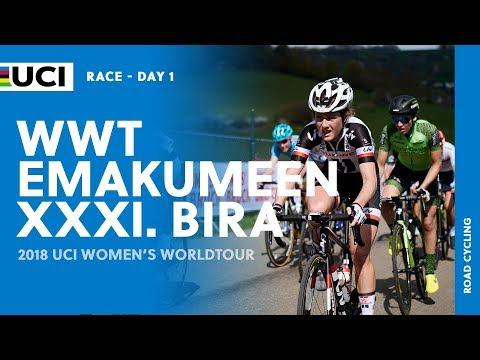 2018 UCI Women's WorldTour – Emakumeen Bira Stage 1 – Highlights