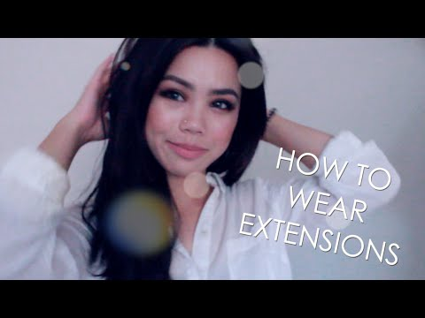 How To | Wear Clip In Hair Extensions (Easy Guide to Flawless Long Hair)
