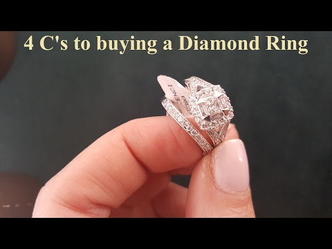 4 C's to Choosing a Diamond Engagement Ring