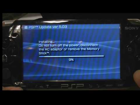 how to hack a psp 1000 and 2000 without pandora battery