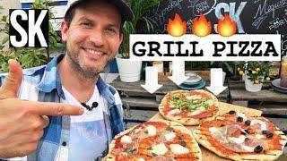 Itt a tökéletes GRILLEZETT PIZZA!🔥🍕