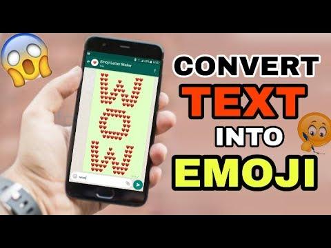Convert TEXT Into EMOJI | WHATSAPP TRICKS | MUST WATCH|