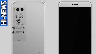Смартфон с двумя дисплеями Meizu Pro 7 и безрамочный Samsung Galaxy Note 8  появились на видео