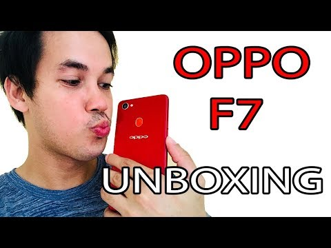 Oppo F7 Unboxing Philippines (Tagalog)