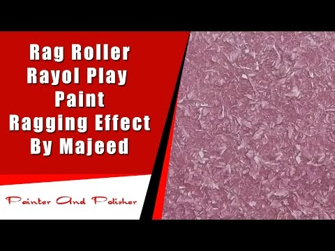 Rag Roller  Royal  Play  Paint  Ragging Effect | By Majeed