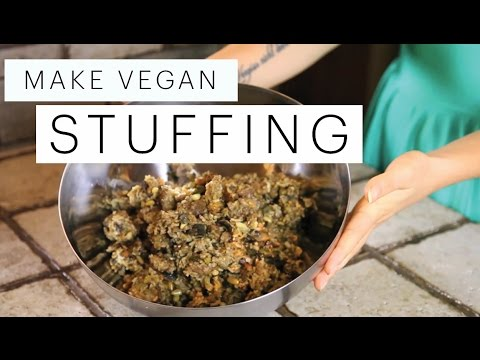 Vegan Stuffing Recipe (Gluten Free Thanksgiving) | The Edgy Veg