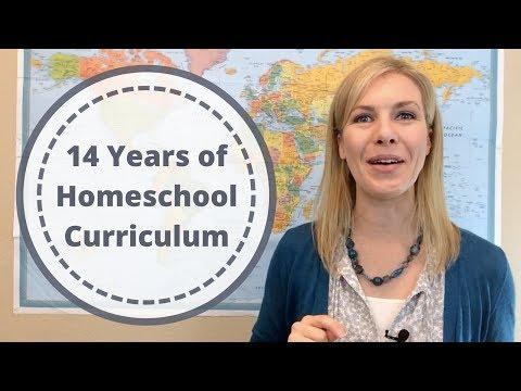 14 Years of Homeschool Curriculum