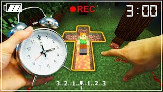 REALISTIC MINECRAFT - ALEX PLAYS MINECRAFT AT 3AM! ⏰