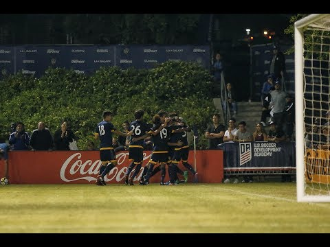 SLO-MO GOALS: LA Galaxy Academy mount 3 goal comeback to defeat Seattle in USSDA semifinals