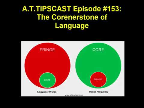 A.T.TIPSCAST Episode #153: The Corenerstone of Language
