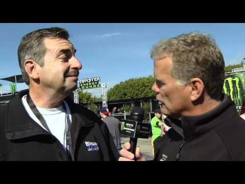 Supercross LIVE! 2012 - Behind the Scenes with LAPD Police Chief Charlie Beck