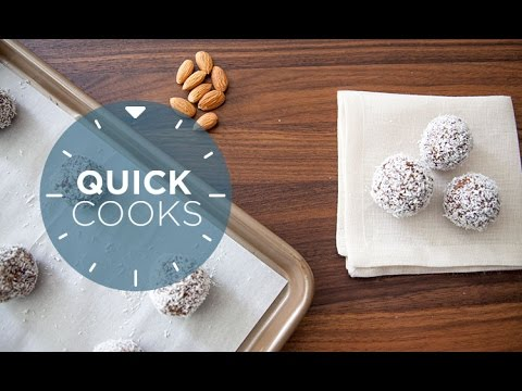 Quick Cooks: Easy Date and Almond Energy Bites