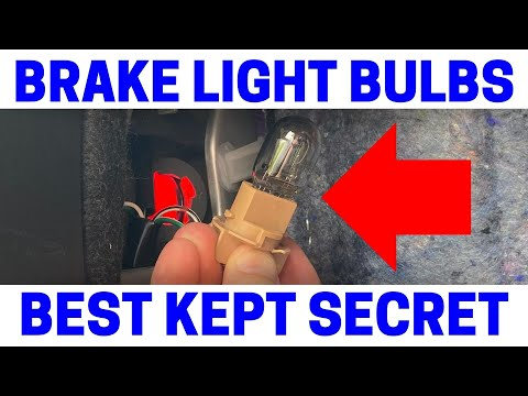 How To Replace Your Toyota Camry Rear Tail Brake Light Bulbs