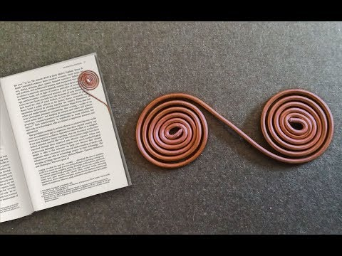 DIY Bookmark Tutorial | How To Make Copper Wire Bookmarks
