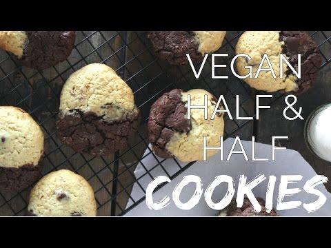 VEGAN BROOKIES \ Chocolate Chip, Brownie Cookies