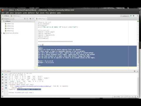Python 4 - Lists Tuples and Dictionary
