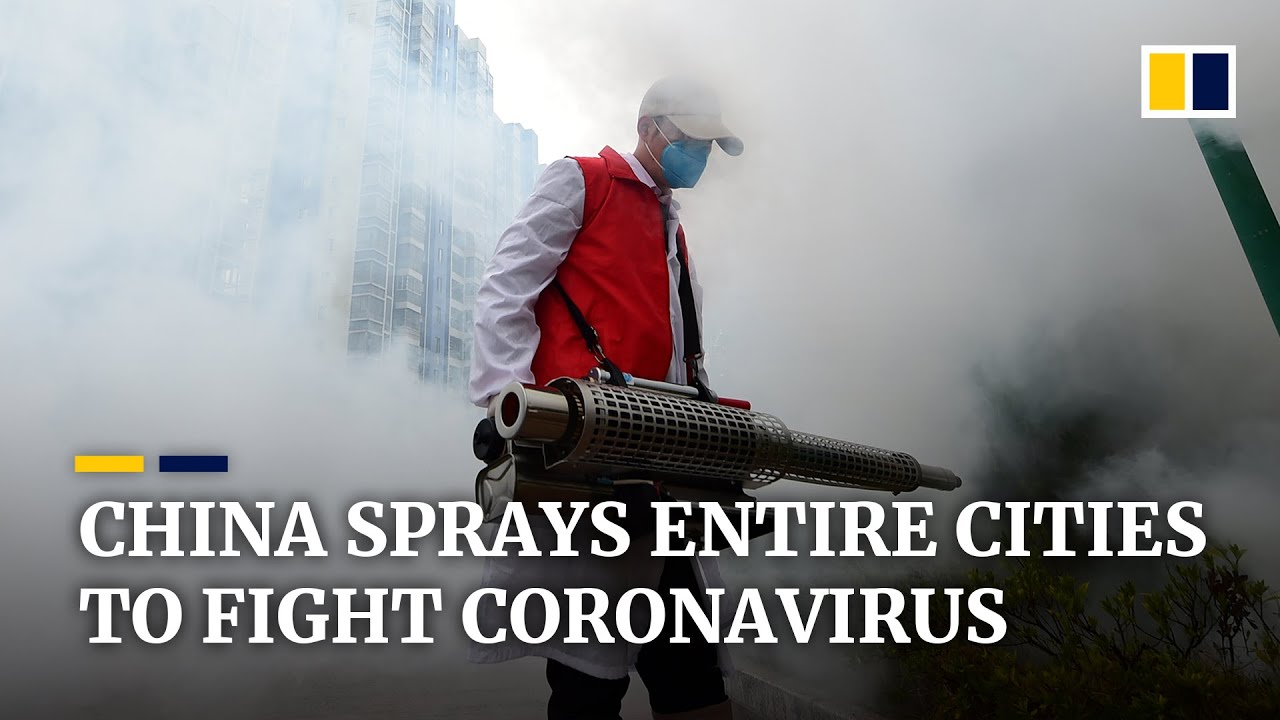 China disinfects entire cities to fight coronavirus outbreak, some twice a day