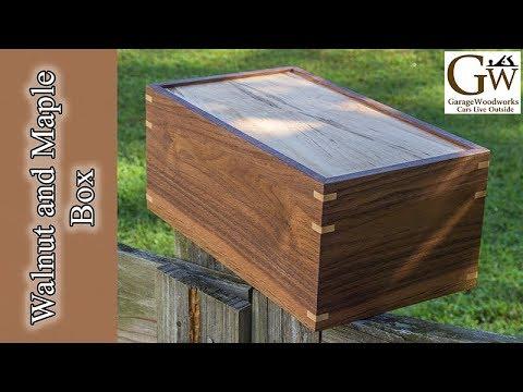 Make a Walnut and Maple Box