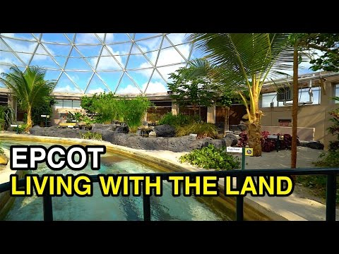 [4K] Living with the Land - Labs Alive : Epcot (Orlando, FL)