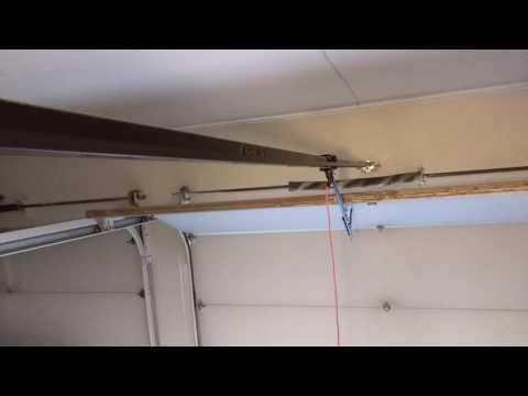 Excessive slack in Chamberlain belt-drive garage door opener