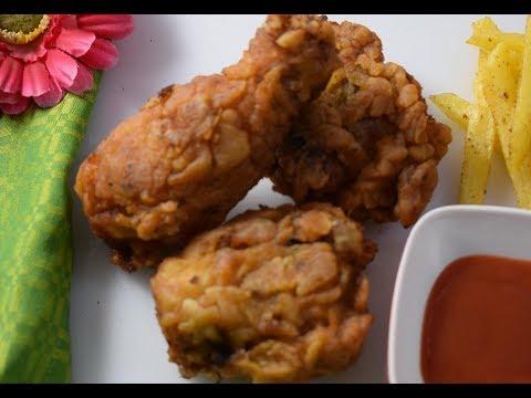 Crispy Fried Chicken Recipe    How to make KFC style Fried Chicken