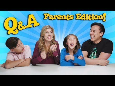 Q&A PARENTS EDITION!!! Our New Year's Resolutions!