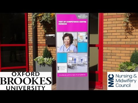 NMC Competency Test Centre at Oxford Brookes University