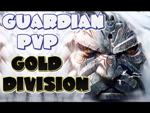 Guild Wars 2 Dragonhunter Longbow Sword Shield Ranked PvP Season 5 + Build Guardian