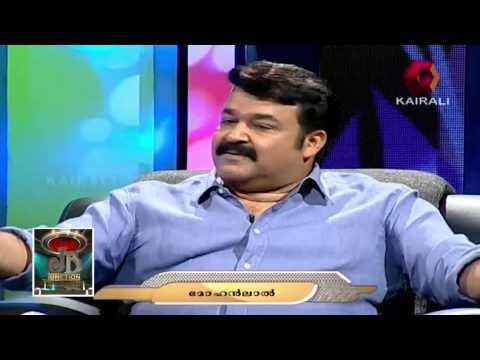 Mohanlal talks about his character as an alcoholic