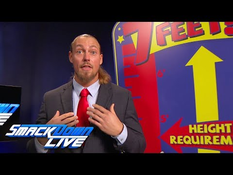 Big Cass promises to take Daniel Bryan on a ride: SmackDown LIVE, June 12, 2018