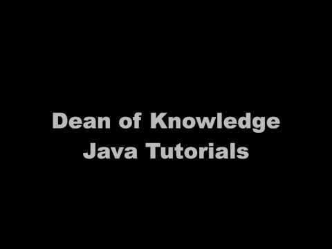 Java Constructor Tutorial