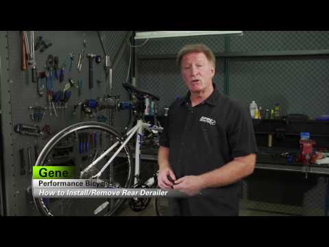 How To Remove And Install A Rear Derailleur By Performance Bicycle