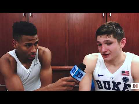 DBP Exclusive: Javin DeLaurier and Grayson Allen After Louisville Win (2/21/18)