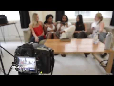 LEVEL UP! MAGAZINE  #MELBOURNE Casting Call - Behind the Scenes