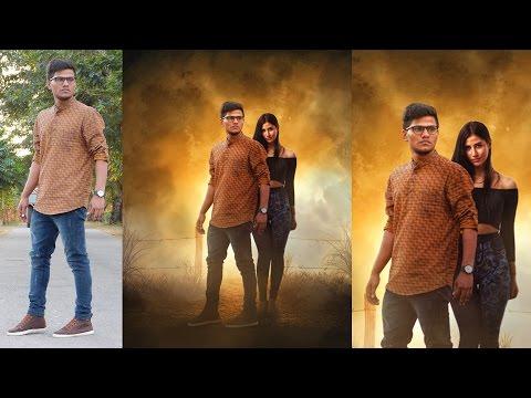 A movie Poster | Photoshop Manipulation Tutorials | night effect