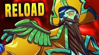 Spam Reload Dredge Is Crazy!! | Paladins Dredge Gameplay & Build