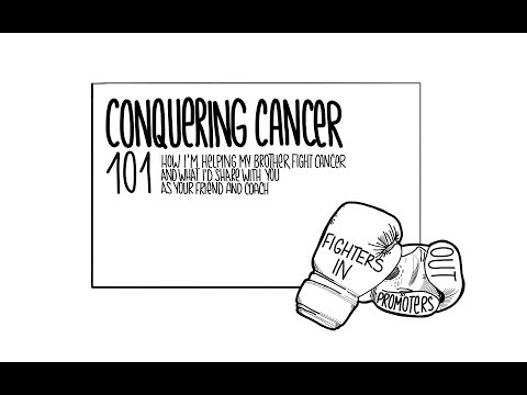 Conquering Cancer 101: How I'm Helping My Brother Fight Cancer + What I'd Share With You (Intro)