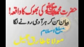 Hazrat Mohammad (SAW) ki bhook ka Qissa | Molana Tariq Jameel |