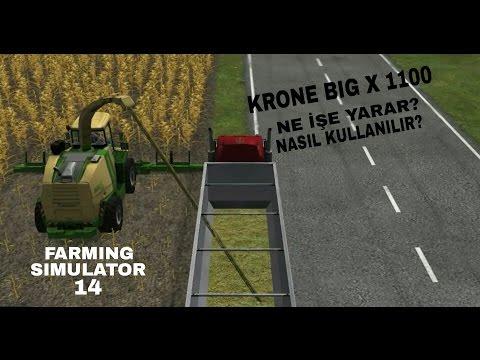 Farming Simulator 14 I KRONE BIG X 1100 Nasıl Kullanılır?
