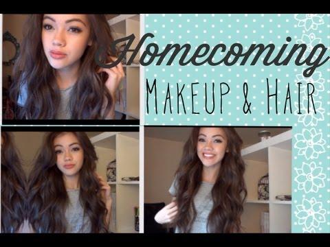 Homecoming Makeup and Hair