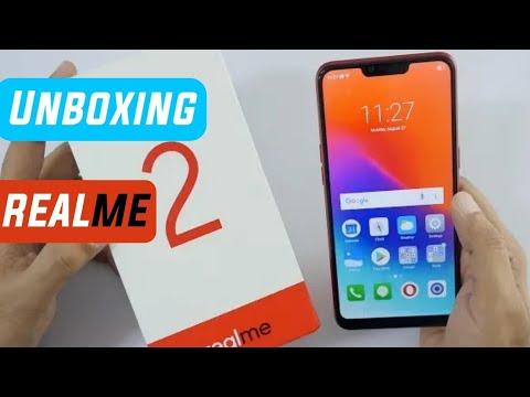 Unboxing Realme 2 Smartphone - Notch Display under 10k   Realme 2   Techno Buzzer
