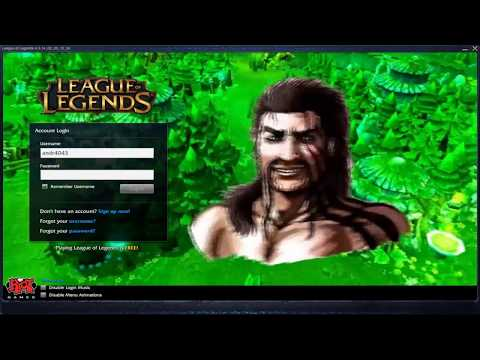 League of Draven - Custom Login Screen League of Legends