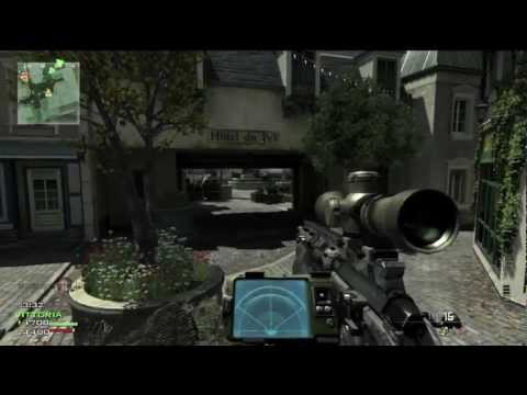 MW3 - TDM Resistance 28 - 7 Sniping