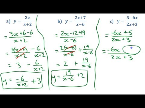 PC12 9.1e Converting Rational Functions Between Forms
